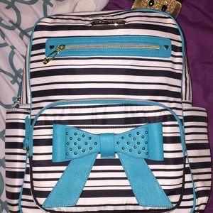 School backpack/baby diaper bag